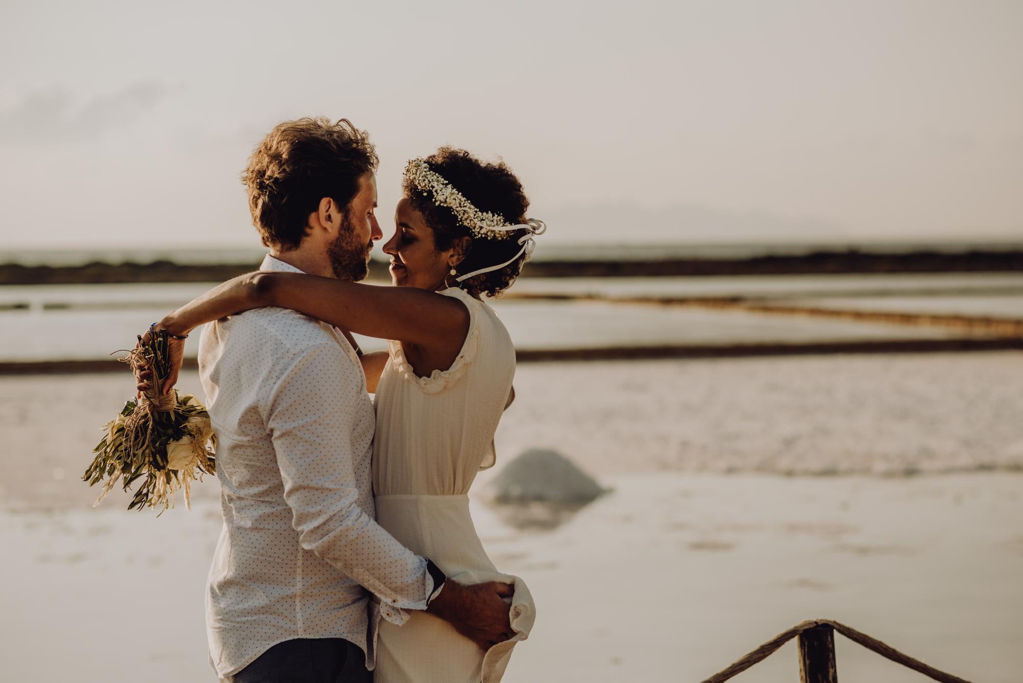 Destination elopement in Marsala, Sicily