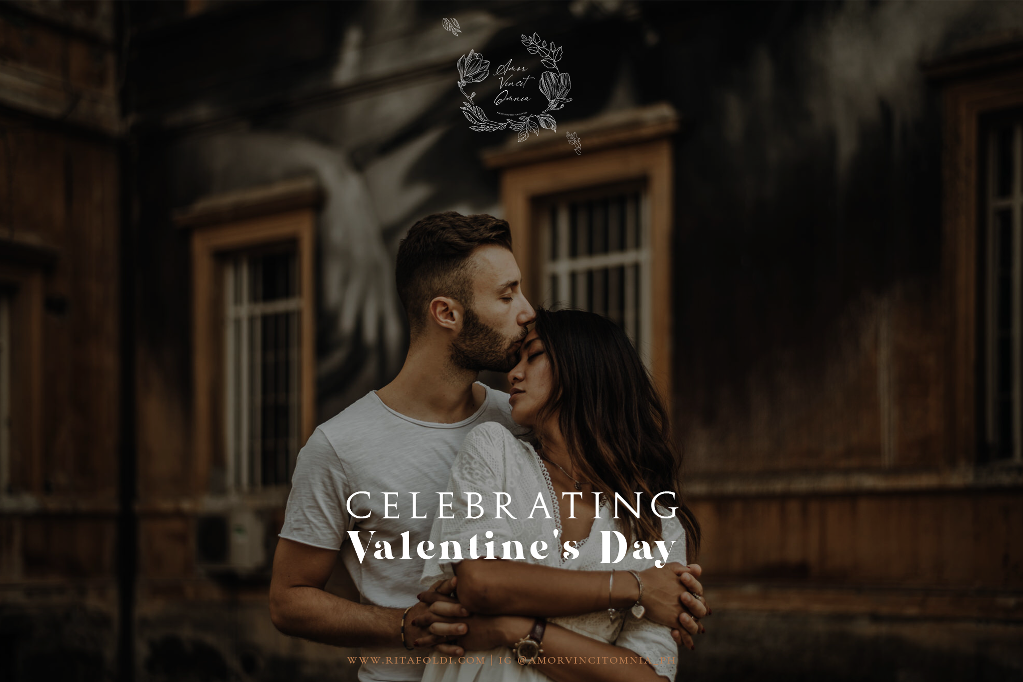 Couple photoshoot in Rome to celebrate Valentine's Day