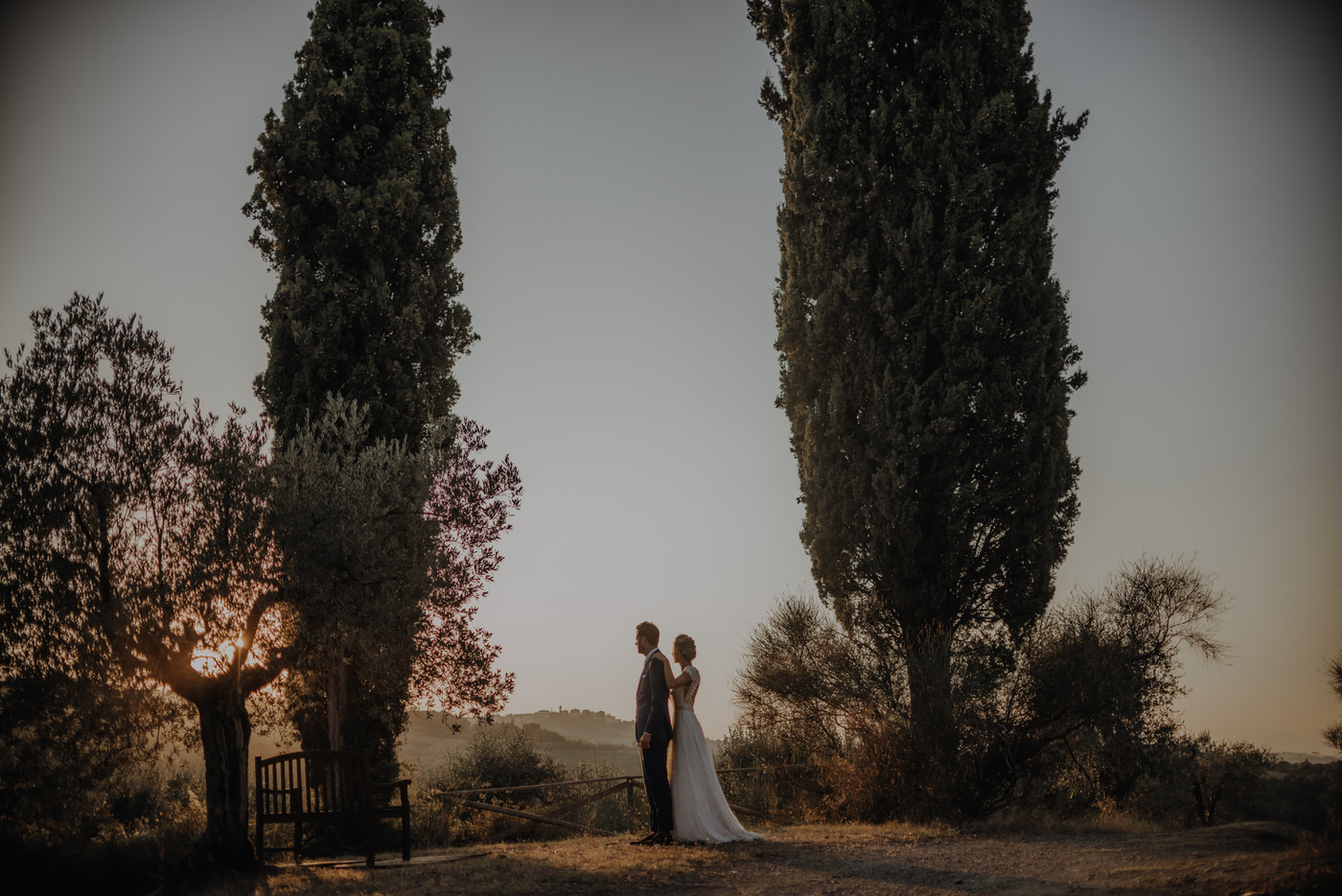Destination wedding from the Netherlands to Tuscany